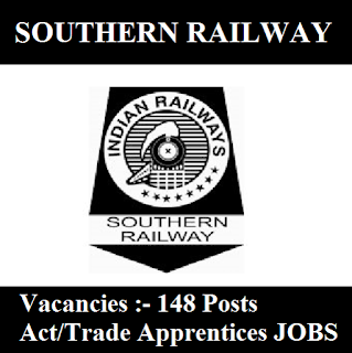 Southern Railway, SR, Tamil Nadu, Railway, RAILWAY, Trade Apprentice, 10th, freejobalert, Sarkari Naukri, Latest Jobs, southern railway logo