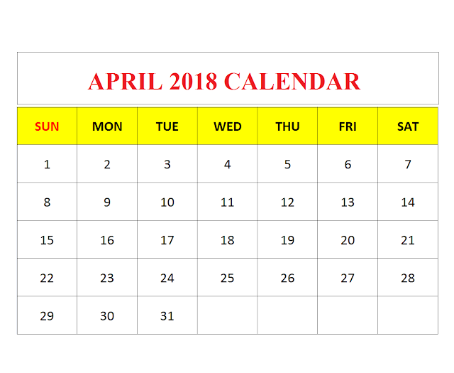 April 2018 Festivals in English & Hindi