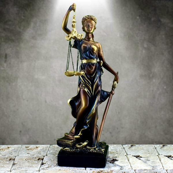 Adalet Tanrıçası Heykeli Büyük Boy
