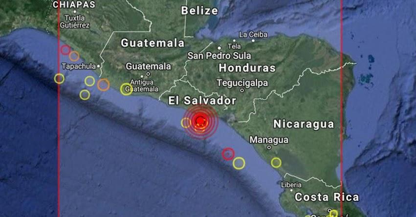 TERREMOTO EN El SALVADOR de Magnitud 6.0 (Hoy Lunes 02 Abril 2018) Sismo Temblor EPICENTRO en San Vicente - Río Lempa - En Vivo Twitter - Facebook - USGS