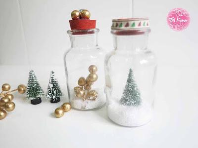 manualidades infantiles en Navidad