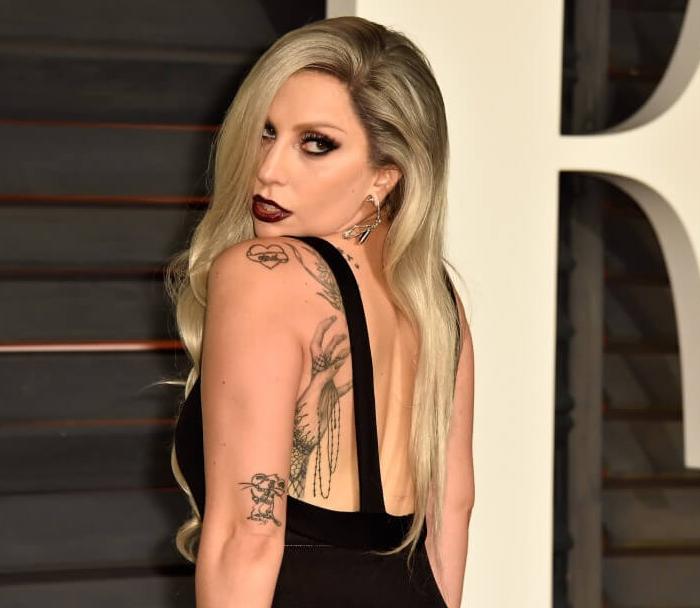 tatuagem lady gaga rato