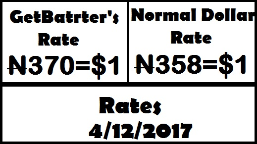 GetBarter's rate vs Normal rate