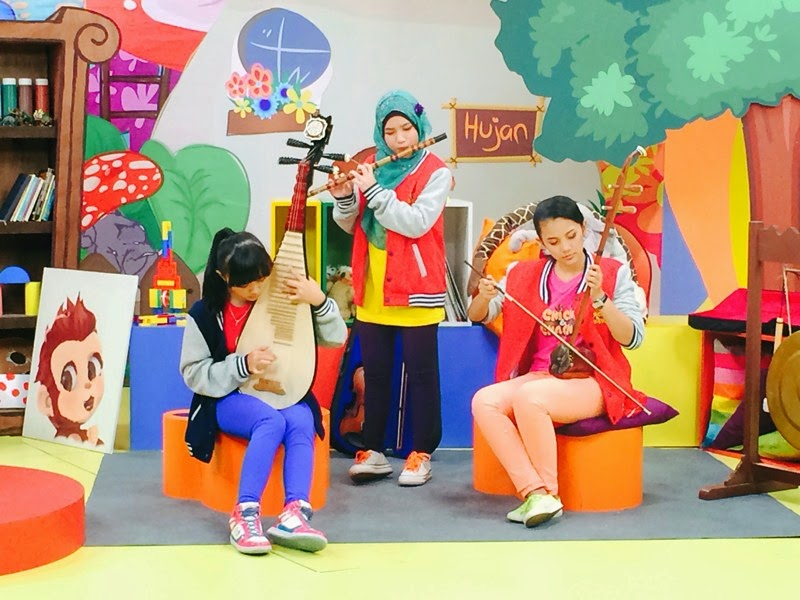 ChiChi & ChaCha Tv Show on Astro Ceria & Astro Maya HD