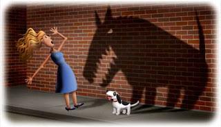 الخوف من الكلاب :