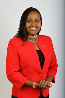 Senator Naisula Lesuuda on a photo pose. PHOTO | Courtesy
