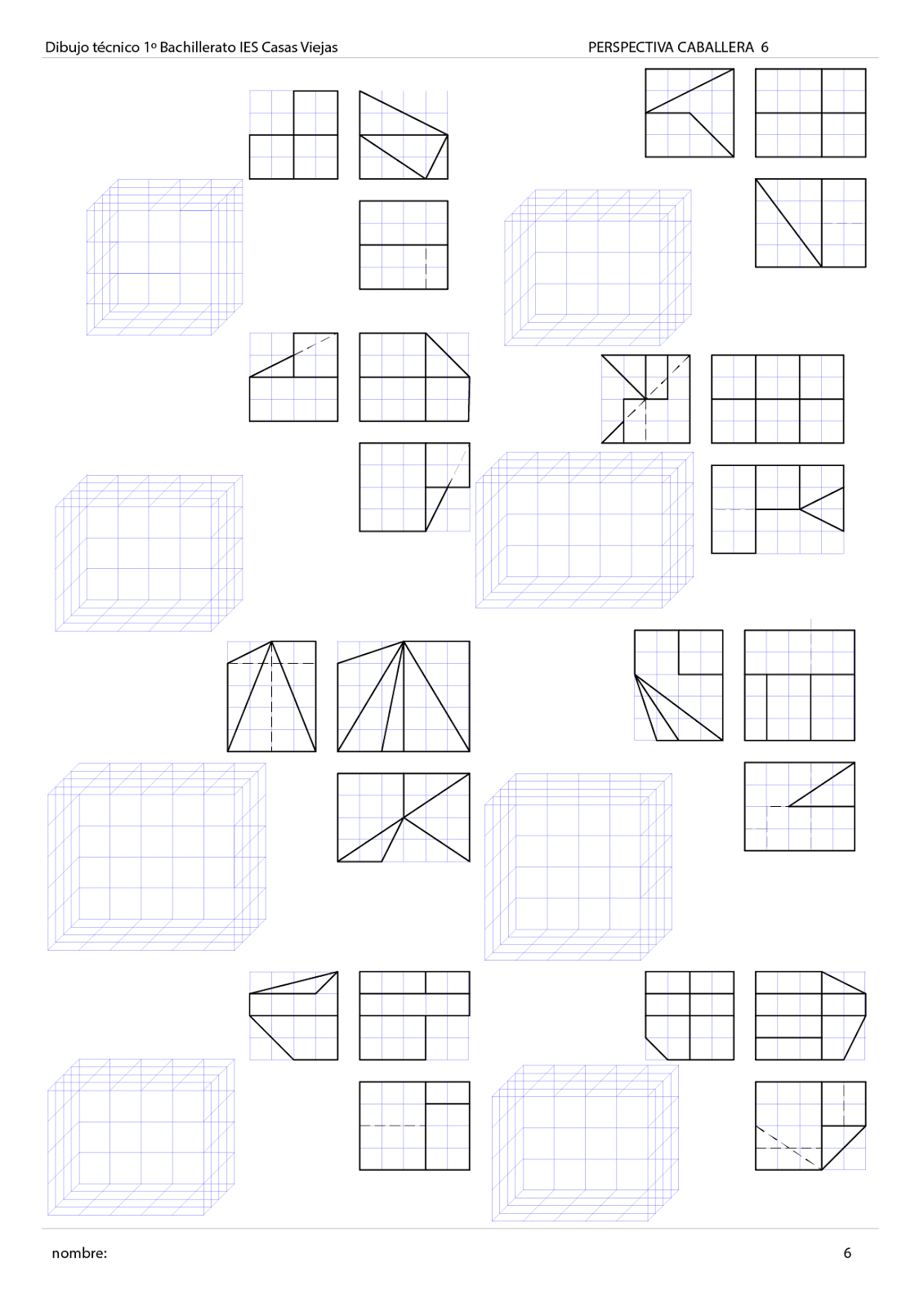 Exercise, Isometric drawing exercises and Drawings on