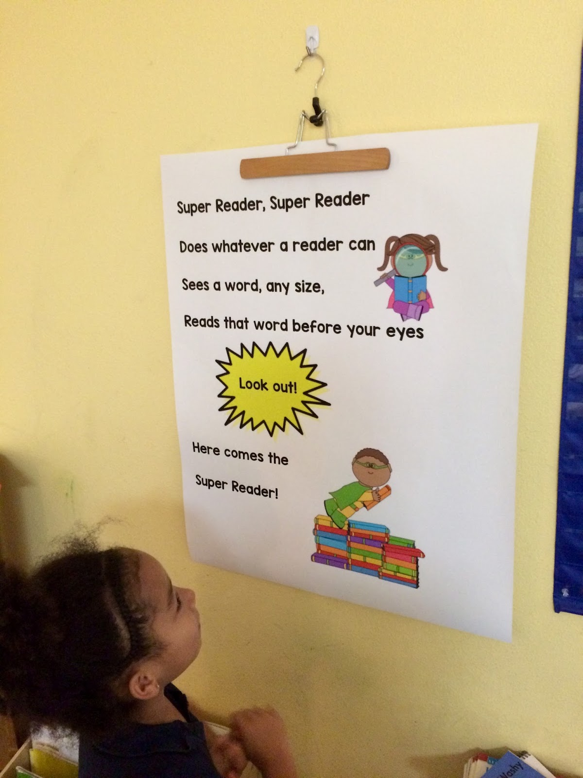 Here   our super readers song chart it set to the tune of spider man theme also ms elisabeth banana slugs new reader workshop unit rh mselisabethkairosspot