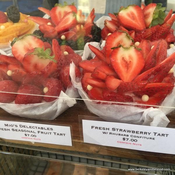 strawberry tart at Portland Farmers Market in Portland, Oregon