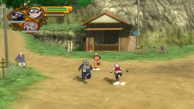 Download Naruto Ultimate Ninja 5 PC Games Gameplay