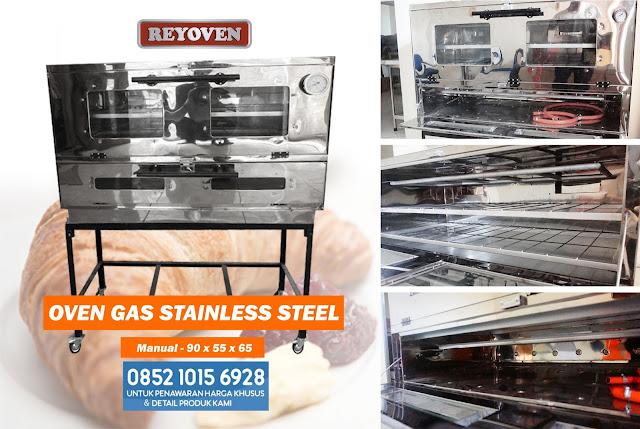 Harga Oven Gas Stainless Steel Untuk Bakery