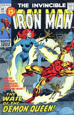 Iron Man #42, the Demon-Queen