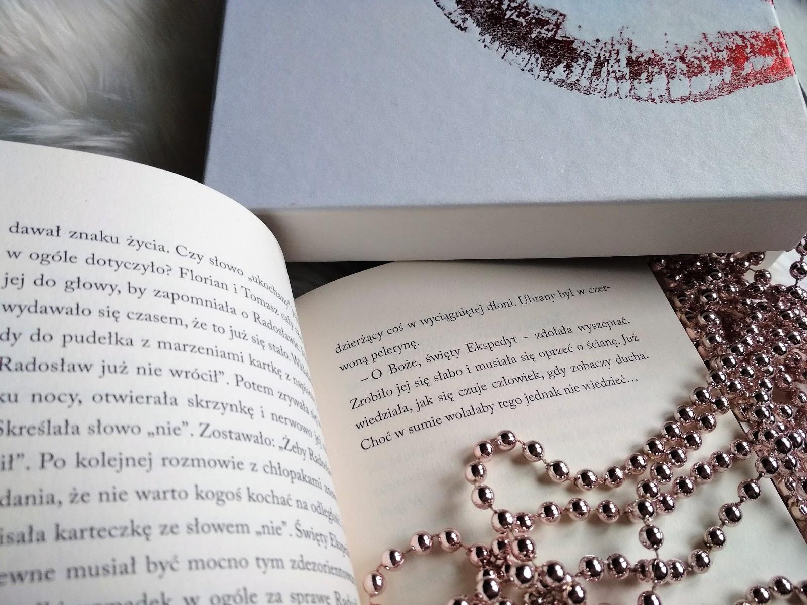 pudełko z marzeniami, magdalena witkiewicz, alek rogoziński, recenzja, książka, blog książka, opinia, piękne zdjęcia