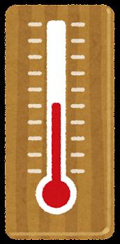 いろいろな温度の温度計のイラスト3