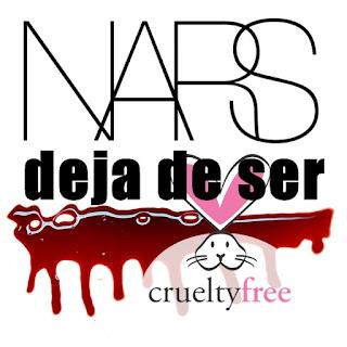 nars deja de ser cruelty free