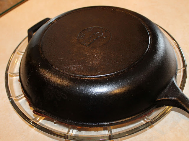 Invert the Skillet to Release the Cake