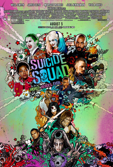 Poster Of Hollywood Film Watch Online Suicide Squad 2016 Full Movie Download Free Watch Online 300MB