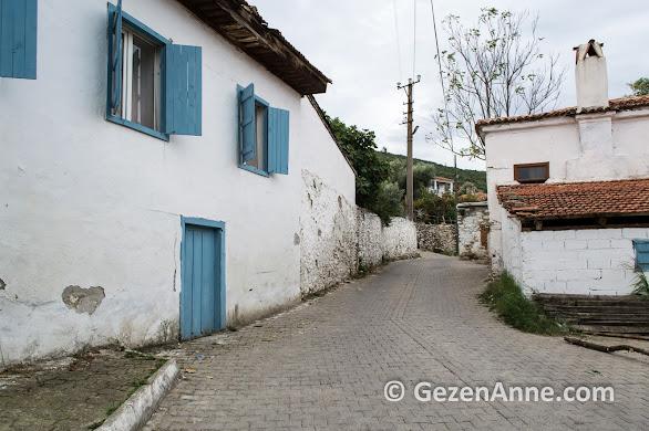 Güzel köy Bozüyük sokakları, Muğla