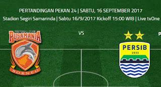Prediksi Pusamania Borneo FC vs Persib Bandung