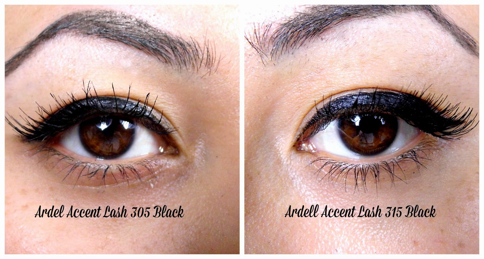 Ardell Accent Lashes 305 And 315 Chocolate Amp Lipstick