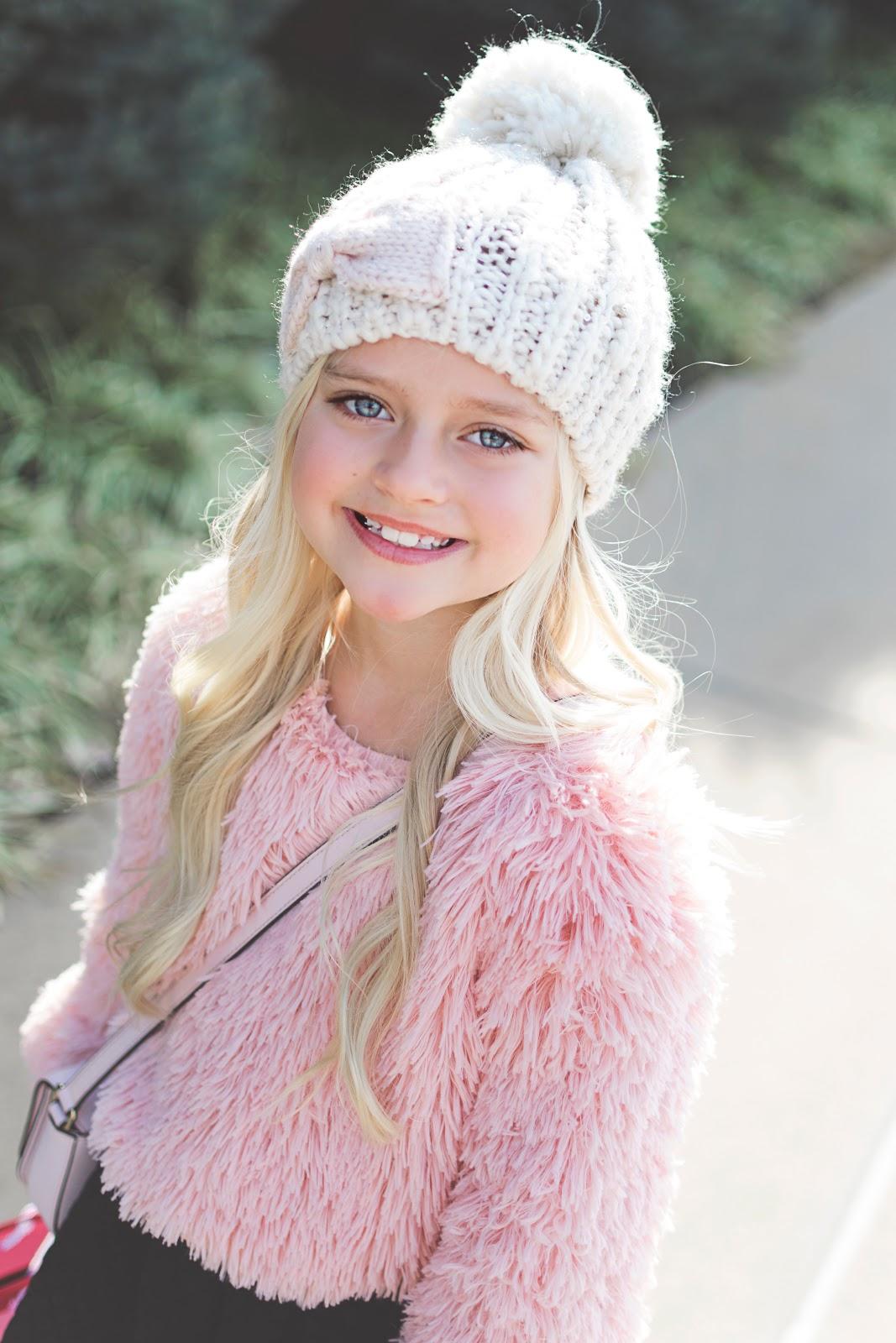 Pink Pearl Sweater Dress