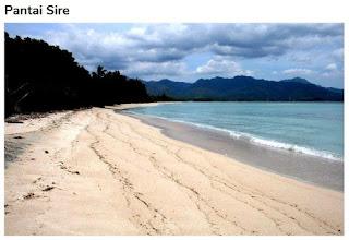 Wisata Pantai Sire di Lombok Utara