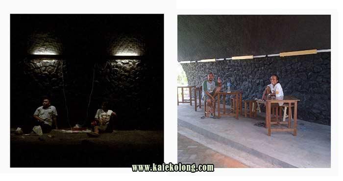Pembangunan Kafe Kolong Jember