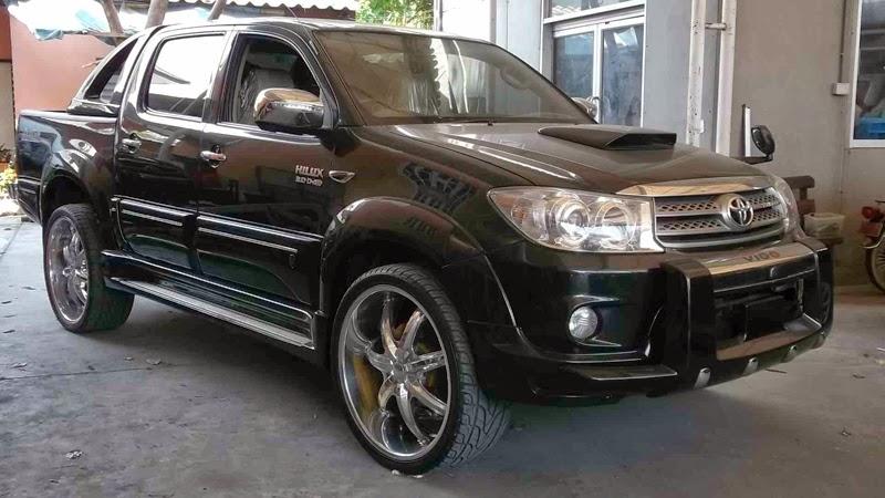Galeri Foto Modifikasi Mobil Toyota Hilux Pick Up Terbaru