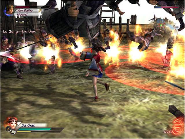 Dynasty Warrior 4 Hyper PC Download Free Gameplay 1
