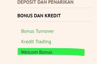 Cara Mendapatkan WELCOME BONUS $100 Tanpa Deposit Untuk Trading Forex