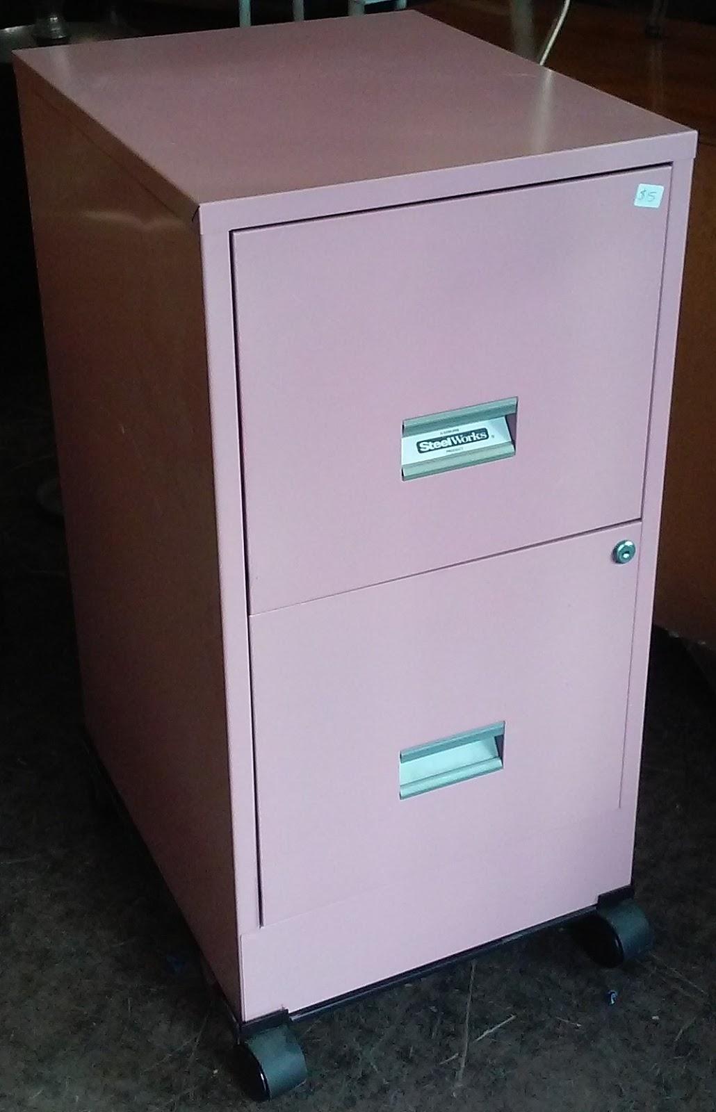 Uhuru Furniture Amp Collectibles Sold Pink 2 Drawer File