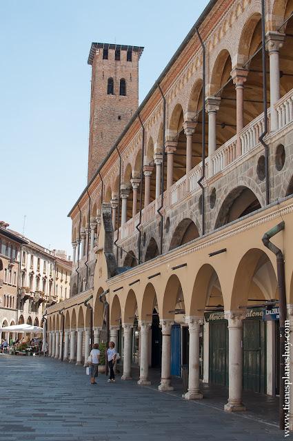 Palazzo de la Ragione Padua monumentos que ver viaje italia
