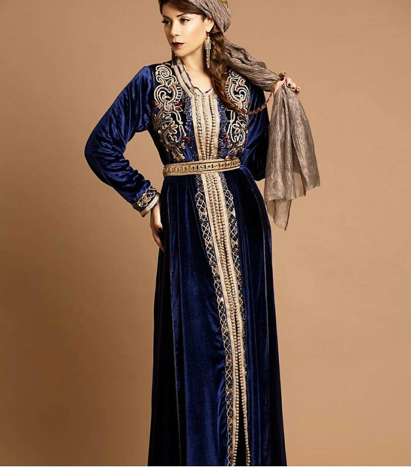 caftan 2018 robes leila hadioui styles de luxe caftan marocain de luxe 2018 boutique vente. Black Bedroom Furniture Sets. Home Design Ideas