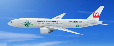 Japan Airlines (JAL) Eco Jet Nature