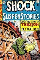 Shock Suspenstories v1 #13 ec comic book cover art by Jack Kamen