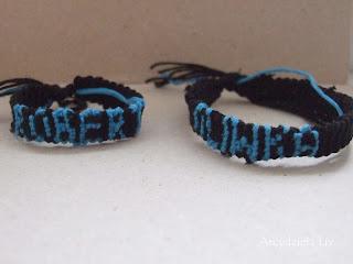 Friendship bracelet- z imionami