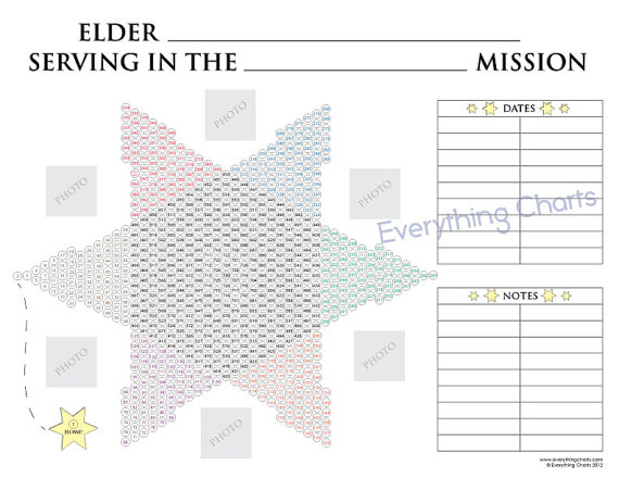 image relating to Printable Countdown Chart called LDS Printable Missionary Countdown Chart for Elders