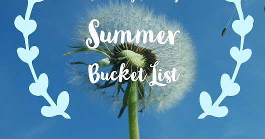 Crunchy Family Summer Bucket List: 30 fun things to try this summer!