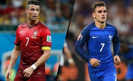 Portugal vs France Euro Final
