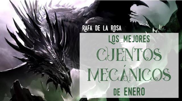Microrrelatos de fantasia, Microrrelatos de terror, cuentos mecanicos, Rafael de la Rosa