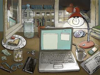 Dibujo, ilustración de la portada, Clara León