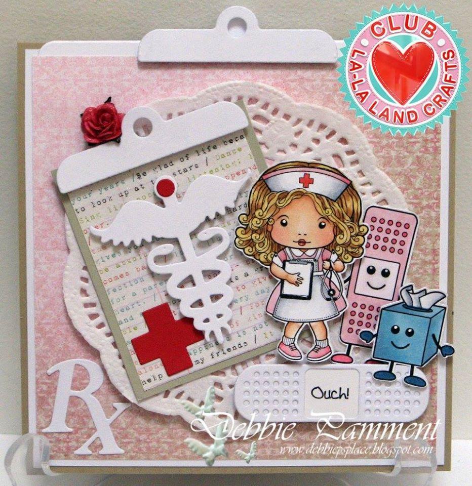 Подарок, скрапбукинг открытки медсестре