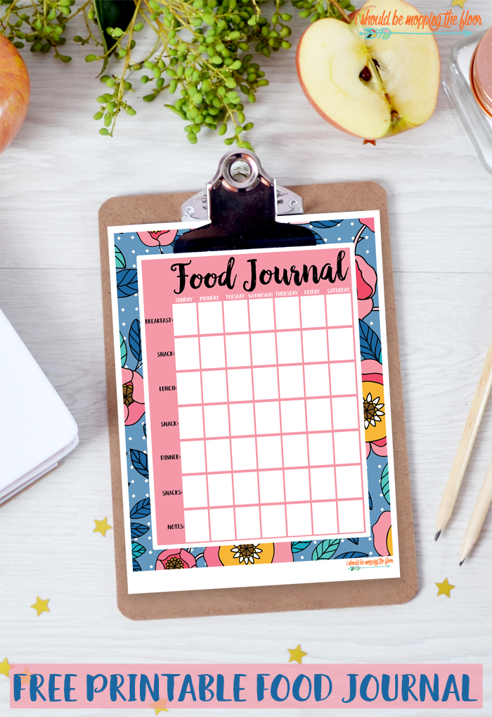 These Free Printable Food Journals are the perfect way to track healthy habits.
