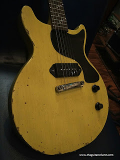 Les Paul Junior kit relic TV Yellow finish