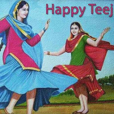 Happy Teej Wishes, Sms, Messages, Shayari, Greetings for FB, Facebook and Whatsapp Status