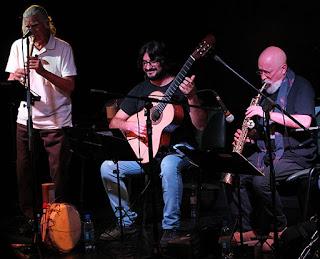 Juan Lázaro Mendolas Quinteto / stereojazz