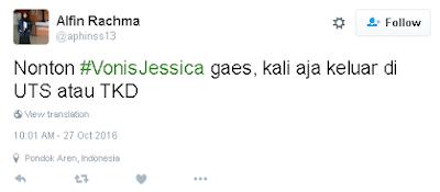 20 Tweet Kocak 'Vonis Jessica' Ini Bukti Netizen Udah Nggak Sabar Denger Keputusannya