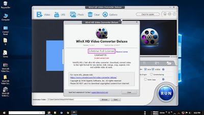 Screenshot WinX HD Video Converter Deluxe 5.12.0.295 Full Version