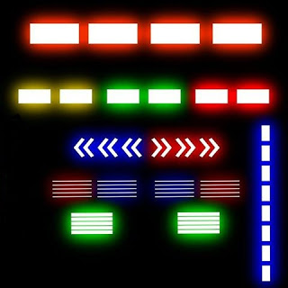 Kumpulan Skin Lampu Strobo PNG GIF Bus Simulator