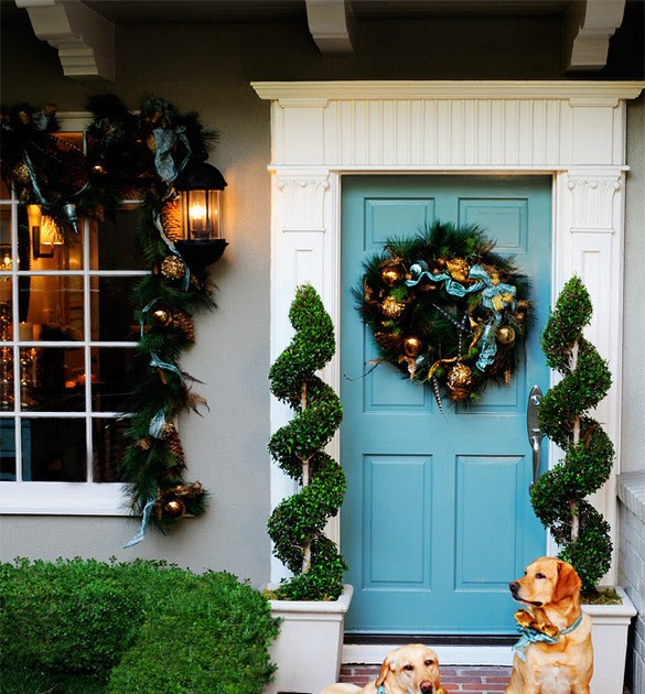 Front Door Inspiration: The Highland Shuffle: Front Door Inspiration